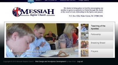 Messiah Baptist Church Update
